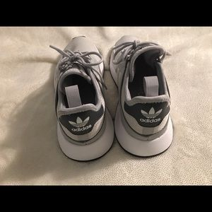adidas Shoes - Adidas Grey Sneakers size 6 Women's, size 4 Junior